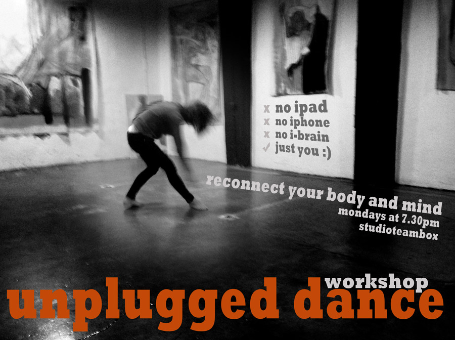 Unplugged dance: reconnect your body and mind - studioteambox
