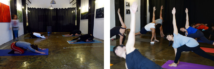 Dynamic Yoga class in Lisbon